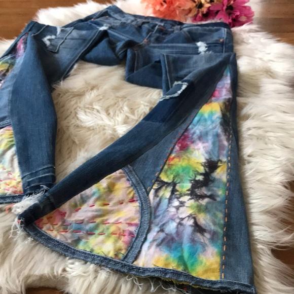 Andrea Durham Designs Denim - Bell Bottom jeans handmade size 1